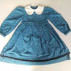 Vintage Cary San Francisco Blueberry Dress Girl 6X